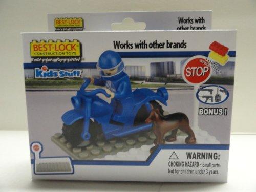 Best-Lock Blue Motorcycle - 1