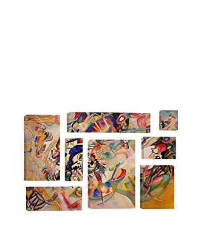 Wassily Kandinsky Composition VII 8-Piece Canvas Print Set
