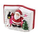 Light-up Storybook Santa