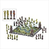 Faerie World Mythical Fairy Battle Chess Board Game Set