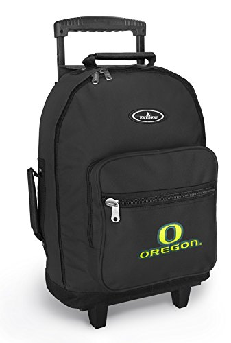 University Of Oregon Rolling Backpack Uo Ducks Backpacks Bags With Wheels Or Sc