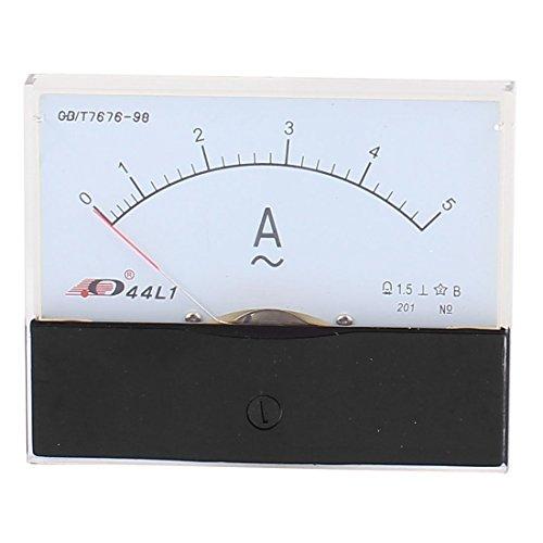 44L1 Pointer Nadel AC 0-5A Stromtester-Panel Analog Amperemeter 100mm x 80mm