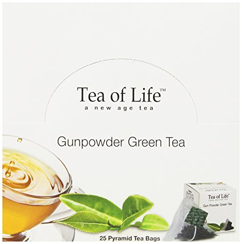 Tea Of Life Green Tea, Gun Powder, 25 Count