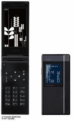 新品 N705i アマダナブラック 携帯電話 白ロム ドコモ docomo