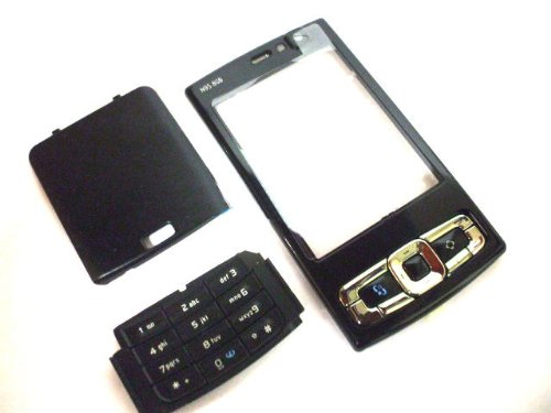 U-Bop Housing Fascia Kit For Nokia N95 8GB (Eight Gigabyte) , Black