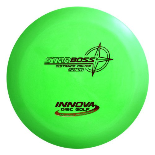 Innova - Champion Discs Star Boss Golf Disc, 173-175gm (Colors may vary) hang glider jack with launcher colors may vary