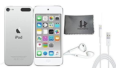 Apple iPod Touch 32 Go - Argent + Accessoires supplémentaires 6ème génération **Nouveau Modèle Juillet 2015**