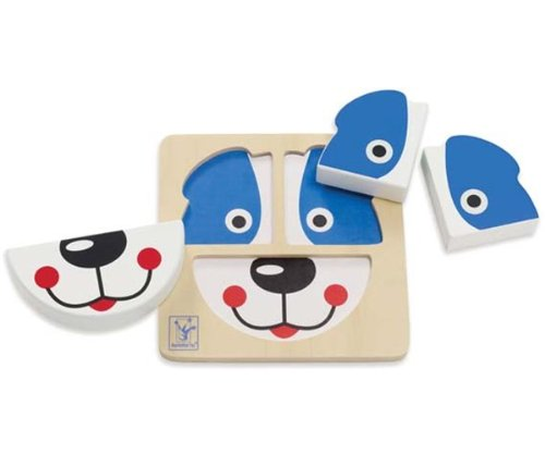 Manhattan Toy Puzzle Time Pals - Dog - 1