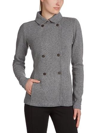 North Sails Damen Bluse Slim Fit, 09-2408, Gr. (L), Grau (grigio mel. 28)