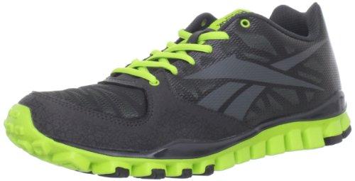 0b969131d1d0 Feature of Reebok Men s Realflex Transition 2 0 Cross Training Shoe Black  Gravel Charged Green 8 5 M US