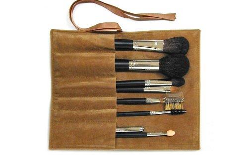 伝統工芸品 熊野筆メイクブラシ Ai brush ロング 化粧ブラシセット 8本
