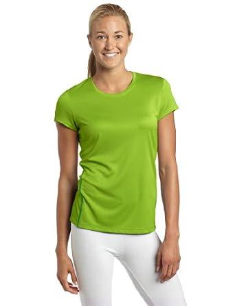 Asics Women's Core Short Sleeve Shirt, Greenery, Large