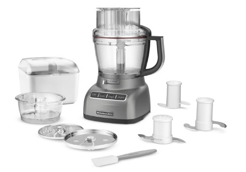 KitchenAid KFP1333CU 13-Cup Food Processor - Silver