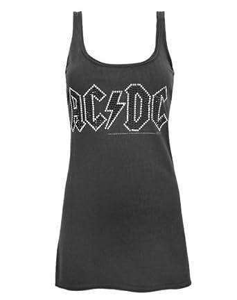 Amplified AC/DC Diamante Women's Vest (M)