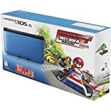 Nintendo 3DS XL - Blue/Black with Mario Kart 7 Pre-Installed