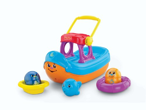 Fisher-Price Topzy Tumblers Tubtime Tumblin' Boat