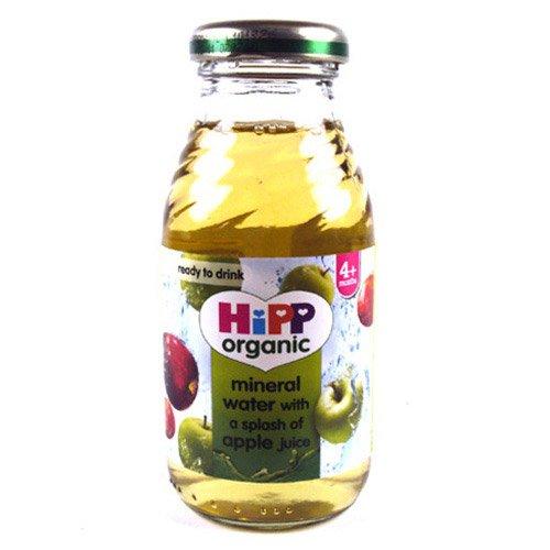Hipp Organic Mineral Water - splash of Apple Juice (6x200ml)