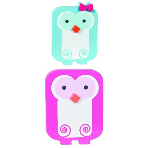 Happy Chic Baby by Jonathan Adler - Olivia Owls 2-Piece Wall Art - 1