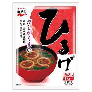 永谷園 生みそタイプみそ汁ひるげ(3食入)