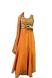 Anjali Women's Georgette Dress Material (Anj08_Multi)