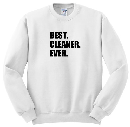 Ss_179768_1 Inspirationzstore Typography - Best Cleaner Ever Fun Gifts For Tidy Neat Freaks Housepride Houseproud - Sweatshirts - Adult Sweatshirt Small front-1027624