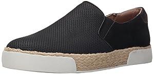 Sam Edelman Women's Banks Fashion Sneaker, Black, 8 M US