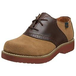 School Issue Varsity 6300 Uniform Shoe (Toddler/Little Kid/Big Kid),Dirty Buck Suede,11 W US Little Kid