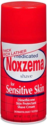 Noxzema Crema Da Barba Per Pelli Sensibili, Confezione doppia