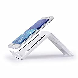 PYRUS Three Coils Qi Wireless Charger for Samsung Galaxy S6 Edge/S6 QI Pad Transmitter Universal for iPhone 6Plus/6/5/5S/Android Other Qi-Enabled Phones with an Extra Wireless Charging Receiver--White