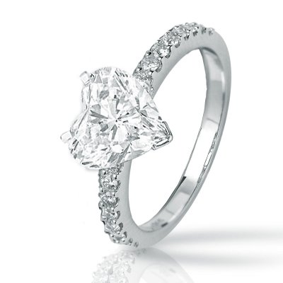 Best Deal Fancy Shape Engagement Rings | Round Diamond Ring