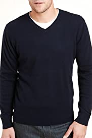 Autograph Wool Rich V-Neck Jumper with Cashmere [T30-4108A-S]