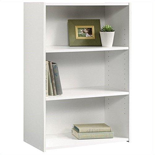 Sauder Beginnings 3-Shelf Bookcase, Soft White (3 Shelf Bookshelf compare prices)
