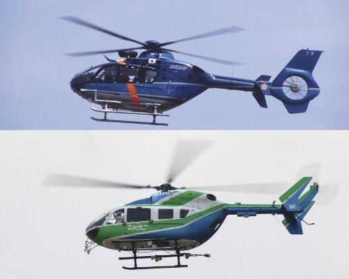 "1/72 EC-135&EC-145 (BK117C-2) ""警察ヘリ&防災ヘリ パート2"" (02110)"