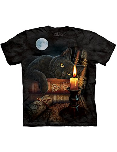 Halloween Black Cat Macabre Witching Hour Potions Tale T-Shirt