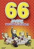 Zahlengeburtstagskarte '66. Geburtstag'