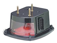 Grote SuperNova Three-Stud Metri-Pack Replacement LED Lamp with Double Connector Red 53650