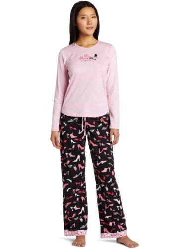 Cinema Etoile Women's Mix N' Match Three Piece Pajama Set