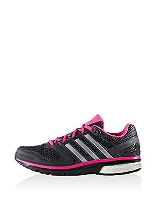 adidas Zapatillas Questar Boost (Negro)
