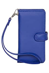 Senzoni Pu Leather Mobile Pouch Wallet Case Cover With Magnetic Look For Motorola Droid Mini