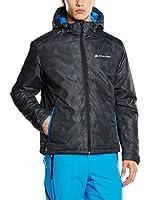 Alpine Pro Chaqueta Esquí LOON (Negro)