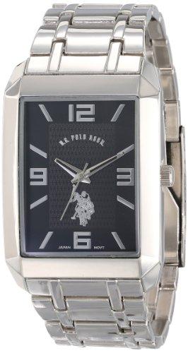 U.S. Polo Assn. Classic Men'S Usc80003 Rectangular Black Dial Bracelet Watch