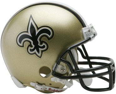 Unsigned New Orleans Saints Mini Helmet at Amazon.com