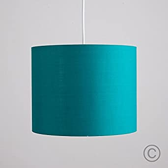 turquoise teal cylinder ceiling pendant table lamp drum light shade. Black Bedroom Furniture Sets. Home Design Ideas