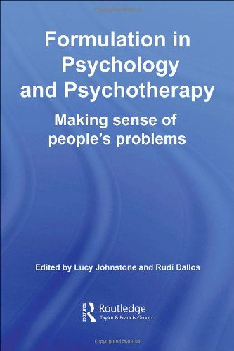 Formulation in Psychology and Psychotherapy: Making Sense...