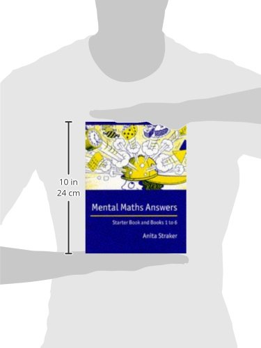 Mental Maths Answer book: Answers