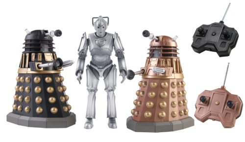 Doctor Who Dalek Remote Control Battlepack with Cyberman