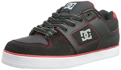 DC PURE SLIM SHOE 301970-BLR, Herren Skateboardschuhe, Rot (BLACK/RED), EU 39