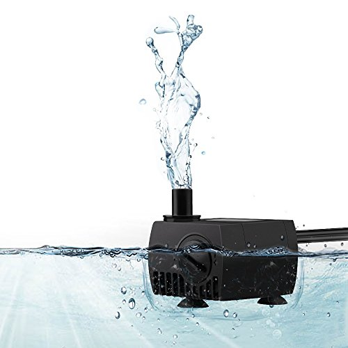 Water pumps small submersible for aquarium fountains fish for Fish pond pumps for sale