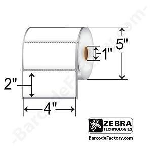 (10009530) Zebra 4x2 Z-Select 4000T Thermal Transfer Label ...