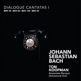 """Ich geh un suche mit Verlangen, BWV 49 - """"Dialogus"""": """"Mein Mahl ist zubereit"""" (Sorpano, Bass)"""